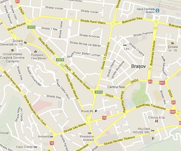 Unde oare o fi strada Republicii in Brasov