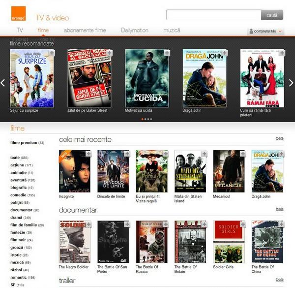 Orange, TV & Video